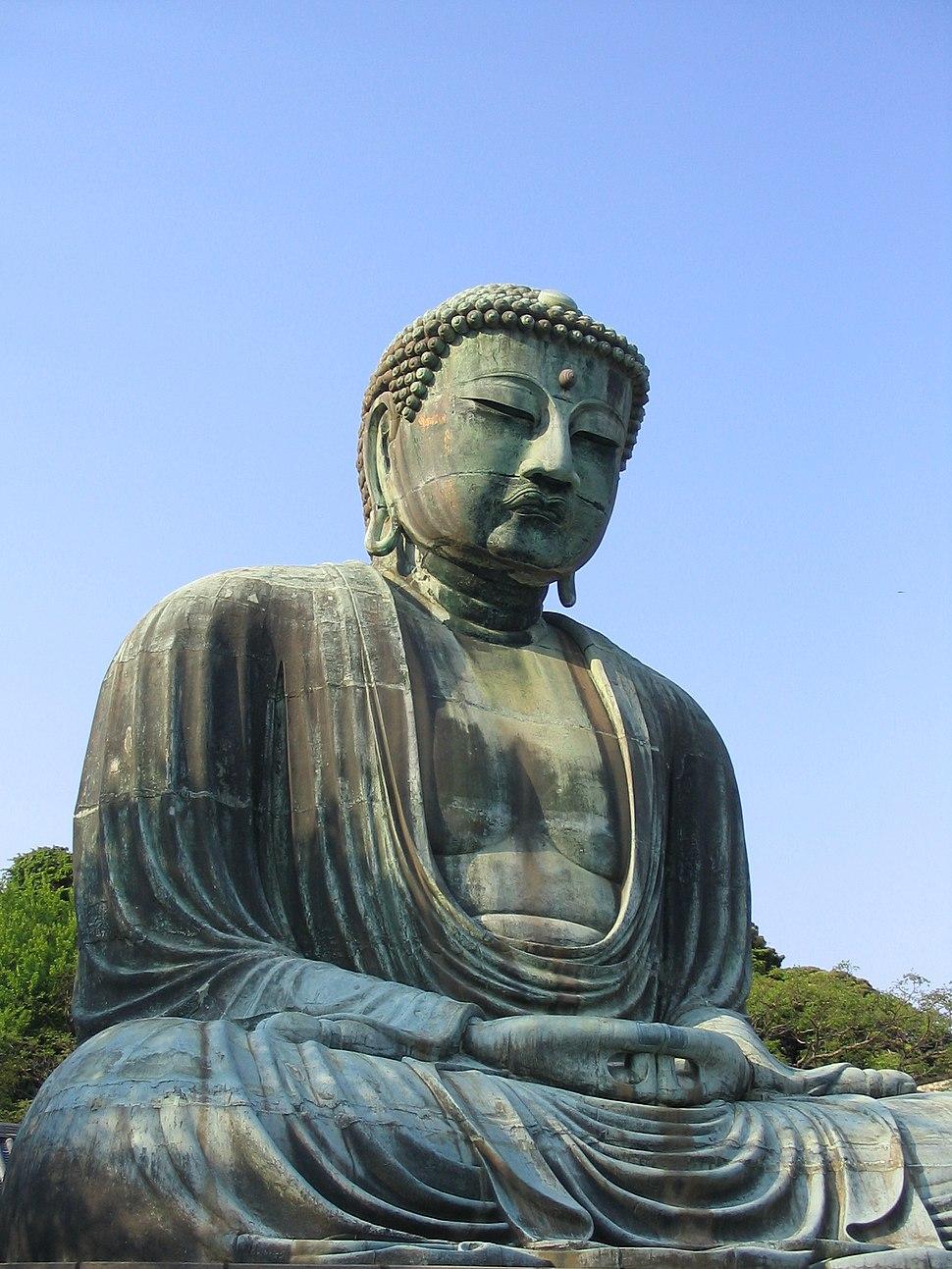 Kamakura Budda Daibutsu right 1879