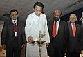 "Kamal Nath lighting the lamp to inaugurate the AIMA – 33rd National Management Convention ""Managing the Future"", organised by the All India Management Association (AIMA), in New Delhi on October 06, 2006.jpg"