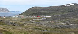Skyline of Kangiqsujuaq