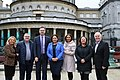 Karen Mullen MLA, Declan McEteer MLA, Pearse Doherty TD, Mary Lou McDonald TD, Elisha McCallion MP, Michela Boyle MLA & Raymond McCartney MLA (31034001567).jpg
