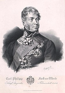 Karl Philipp von Wrede German field marshal