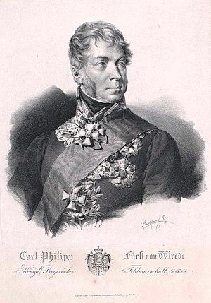 Battle of Laubressel - Karl Philipp von Wrede