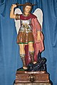Kath Pfarrkirche Wallfahrtskirche in Dimbach - Figur hl Michael.jpg