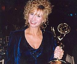 Kathy Baker z nagrodą Emmy w 1993