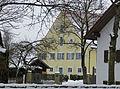 Kaufering - Kirchberg Nr 6 Pfarrhaus v SW.JPG