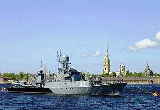 Parchim-class corvette - Russian corvette Kazanets