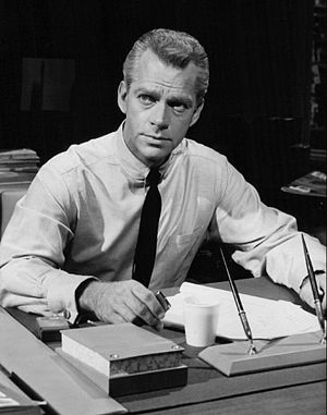 Paradise Bay (TV series) - Keith Andes as Jeff Morgan.