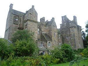 Kellie Castle - Kellie Castle (rear view)