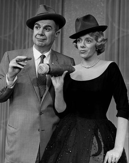 With Ken Murray on The Lux Show Starring Rosemary Clooney (1957) Ken Murray Rosemary Clooney Lux Show 1957.JPG