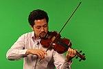 Kenji Williams plays violin at NASA Goddard Spaceflight Center.jpg