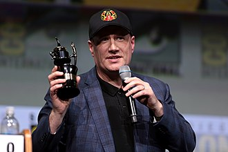 Kevin Feige - Feige receiving the Inkpot Award at the 2017 San Diego Comic-Con