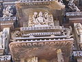 Khajuraho India, Chaturbhuj Temple, Shiva Sculpture; Photographed 10-March-2012.JPG