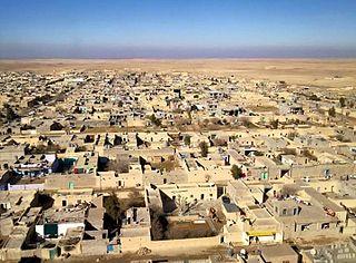 Khana Sor Town in Ninawa, Iraq