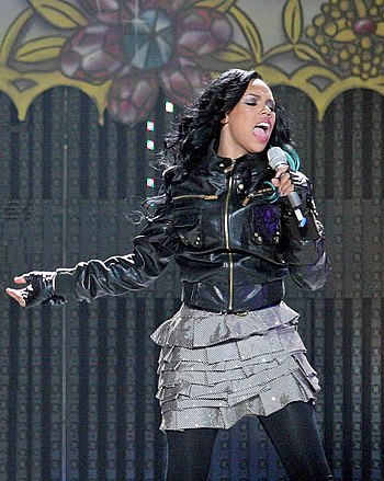 """English: Kiely Williams during the """"One W..."""