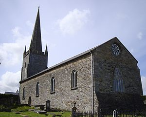 Bishop of Killala - St Patrick's Cathedral, Killala, the episcopal seat of the pre-Reformation and Church of Ireland bishops.