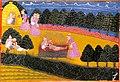 King Dasharatha cremates Shravana and his aged Parents.jpg