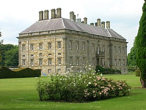 Estate houses in Scotland - Kinross House, one of the first Palladian houses in Britain