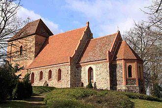 Vollrathsruhe - Image: Kirch Grubenhagen Kirche