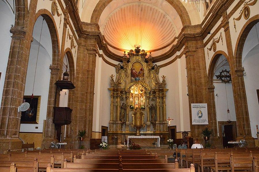 Kirche in Inca Innenraum