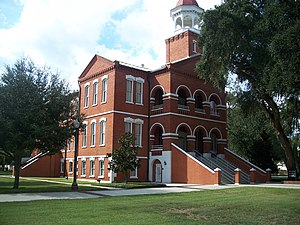 Osceola County Courthouse (Florida) - Image: Kissimmee Old County Crths 01
