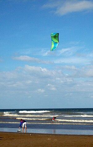 Mar de Ajó - Kite surfing in Mar de Ajó