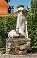 Klagenfurt Sankt Martin Friedelstrand Antonius-Brunnen 15072017 0168.jpg