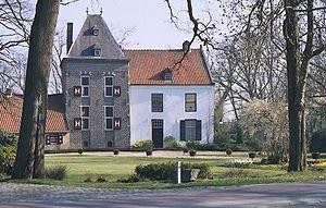 Van Boetzelaer - Image: Klein Kasteel Deurne NL voorzijde B