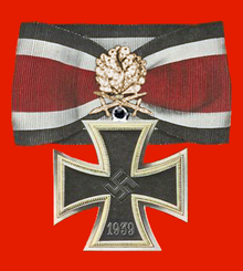 The Knight's Cross Knight's Cross of the Iron Cross with Oakleaves, Swords, and Diamonds.png