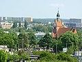 Kościół Rzymsko Katolicki p.w św Józefa - widok z Ogrodów - panoramio.jpg