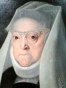 Kober Anna Jagiellon as a widow (detail) 01