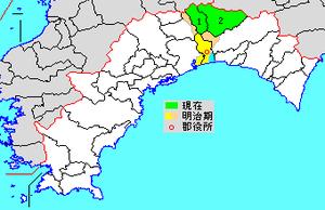 Usa, Kōchi - Map of Kōchi Prefecture