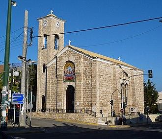 Pallini - Image: Koimiseos tis Theotokou Church at Pallini