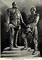 Kolossalgruppe Kaiser Wilhelm I und Otto von Bismarck in Ruhrort, von Gustav Eberlein, 1896.jpg