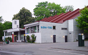 F. S. Platou - The Kon-Tiki Museum at Bygdøy in Oslo, which was designed by F. S. Platou and Otto Torgersen in 1957