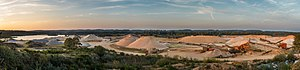 Gravel pit - Image: Kongensbro gravel pit 2014 09 17 Diliff Reprocess