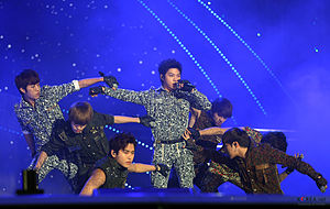 Infinite in 2013 at the K-Pop World Festival