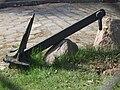 Kotwica przed Centralną Składnicą Marynarki Wojennej, Gdynia - 001.JPG
