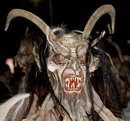 A modern Krampus at the Perchtenlauf in Klagenfurt (2006) - Krampus