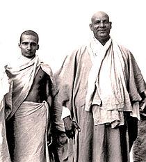 Krishnananda and Sivananda 1945.jpg