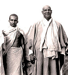 Krishnananda and Sivananda 1945.jpg