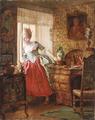 Kristian Zahrtmann - Jomfru Charlotte Dorothea Biehl - 1874.png
