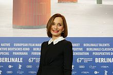 Kristin Scott Thomas Press Conference The Party Berlinale 2017 02.jpg