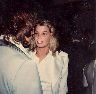 Kristine DeBell - DeBell at the premiere of the 1976 remake of  A Star is Born