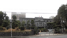 Kumamoto University Headquarters building 2021.JPG