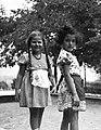 Lány kettős portré 1940-ben Budapesten. Fortepan 16902.jpg