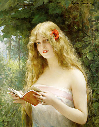Léon Comerre - La belle liseuse