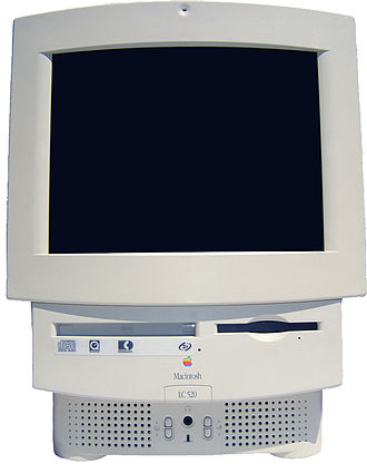 Macintosh LC 500 series - A Macintosh LC 520