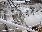 LNG-säiliöt, MS Viking Grace, Pernon telakka, Turku, 5.1.2013 (3).JPG