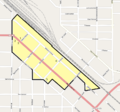 La Grande Commercial HD boundary map.png
