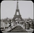La Tour Eiffel from North of the Trocadero, 1889 - Flickr 14382709664.jpg